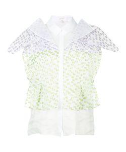 Delpozo   Текстурированная Объемная Блузка