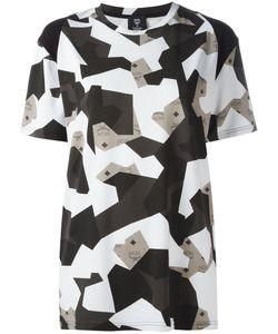 MCM   Camouflage Print T-Shirt