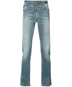 Denham | Faded Effect Jeans 34/32 Cotton/Polyester/Spandex/Elastane