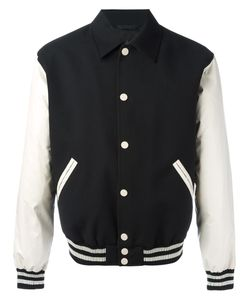 Calvin Klein Collection | Varsity Jacket Large Wool/Polyurethane/Viscose