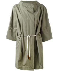 Fabiana Filippi | Oversized Coat Cotton/Acetate/Polybutylene Terephthalate Pbt