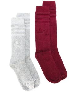 adidas Originals | Two Pairs Ribbed Socks