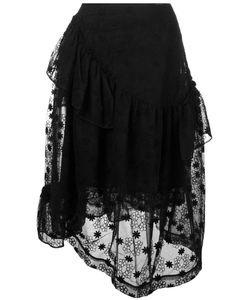 Simone Rocha   Embroidery Layered Skirt Size 6
