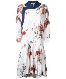 Antonio Marras | Print Gathe Dress 44 Cotton