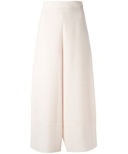 See By Chloe | See By Chloé Cropped Palazzo Pants 34 Polyester/Viscose