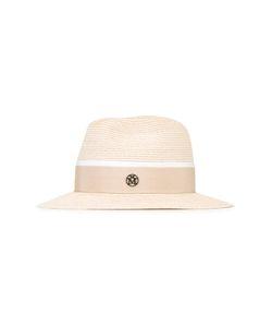 Maison Michel | Henrietta Hat Medium Cotton/Straw