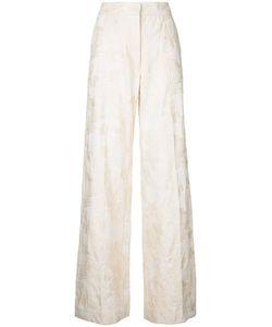 Dries Van Noten | Wide Leg Jacquard Trousers