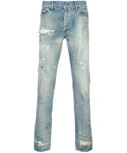 John Elliott | Distressed Slim-Fit Jeans Men