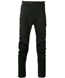 JULIUS | Distressed Slim Fit Trouser Size 4
