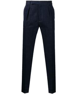 Paul Smith | Pleat Detail Tape Jeans 30 Cotton/Linen/Flax