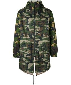 Lc23   Camouflage Hooded Coat M