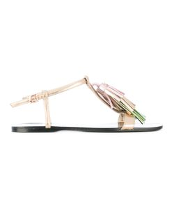 Anna Baiguera | T-Bar Flat Sandals