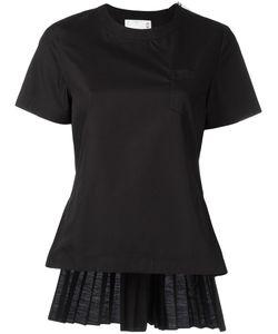 Sacai | Accordion Pleat Top 2 Cotton/Polyester