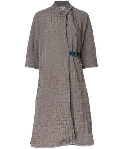 Kolor | Asymmetric Belted Coat 1 Polyester