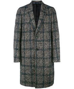 PS PAUL SMITH | Ps By Paul Smith Checked Single Breasted Coat Medium