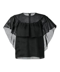 Red Valentino | Ruffle Detail Blouse