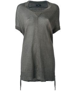 Y'S | Drawstring Hem Knitted Top