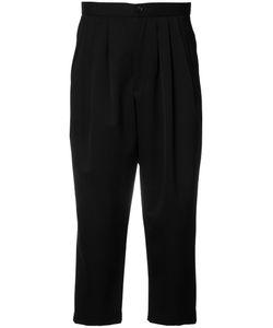Comme Des Garcons | Comme Des Garçons Drop-Crotch Cropped Trousers Medium Wool/Cupro