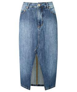Amapô | Straight Jeans Skirt Size 36