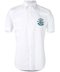 Love Moschino | Logo Embroidered Shirt