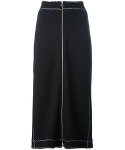 Mcq Alexander Mcqueen | Zipped Front Midi Skirt Size Medium