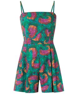 Isolda | Abstract Print Playsuit