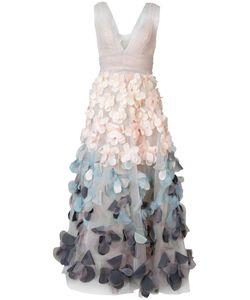 Marchesa Notte | Applique Dress Size 6