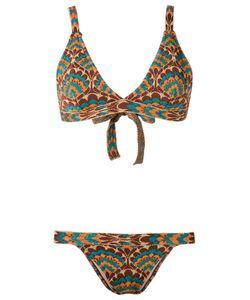 Gig | Printed Bikini Set Medium Lurex/Polyamide