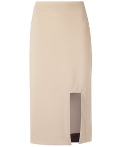 GLORIA COELHO | Cut Out Skirt