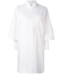 Burberry | Bishop Sleeve Shirt Dress