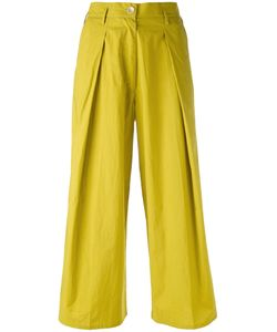 Forte Forte | Pleated Cropped Trousers Size Ii