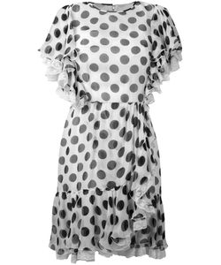 Dolce & Gabbana | Polka Dot Ruffled Dress Size 38