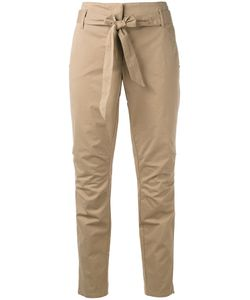 Luisa Cerano | Belted Cropped Trousers