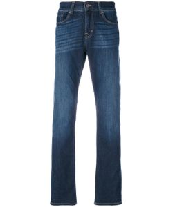 7 for all mankind   Stonewashed Regular Jeans