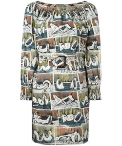 Burberry | Printed Shift Dress Size 12