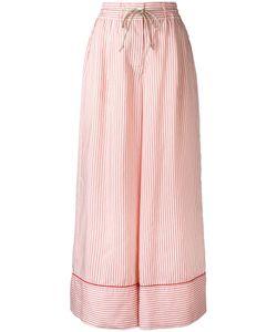 Sacai | Striped Wide Leg Trousers Size 2