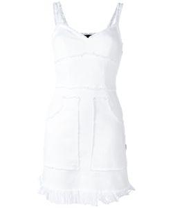 Love Moschino | Frayed Seam Denim Dress 38