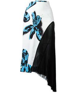 Cedric Charlier | Cédric Charlier Print Asymmetric Skirt 44 Rayon