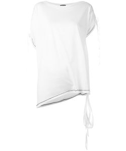 Ann Demeulemeester | Lace-Up Sleeves T-Shirt Size 36