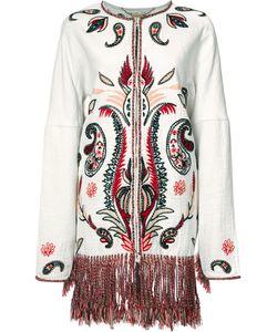 Rachel Zoe | Embroidered Coat Size Medium