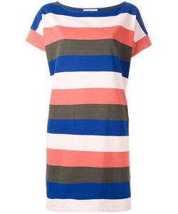YMC | Striped T-Shirt Dress Medium Cotton