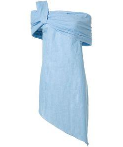 BAJA EAST | Asymmetric Striped Dress 1 Cotton/Rayon/Linen/Flax