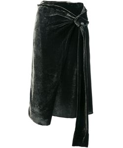 Federica Tosi   Asymmetric Tie Skirt Women