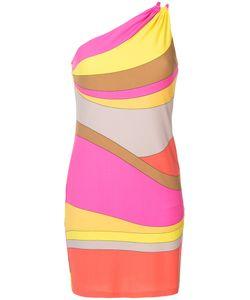 Trina Turk | Striped One Shoulder Dress