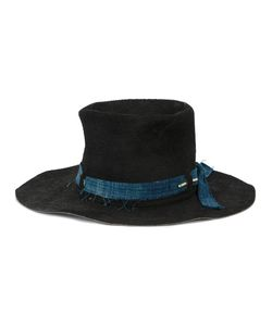 NICK FOUQUET | Chimaya Warrior Hat With Denim Ribbon Men