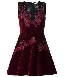 Zuhair Murad | Lace Details Dress 40 Cotton/Viscose/Polyamide/Spandex/Elastane