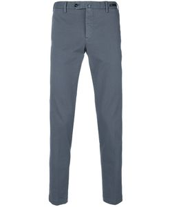 Pt01 | Fitted Tailored Trousers Men 46