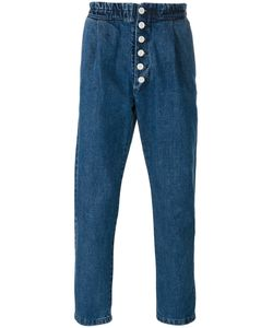 Sunnei | Button Up Denim Trousers Size Large