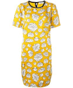 Essentiel Antwerp | Graphic Flower Print Dress Size 42
