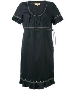 Fay | Studded Trim Contrast Dress
